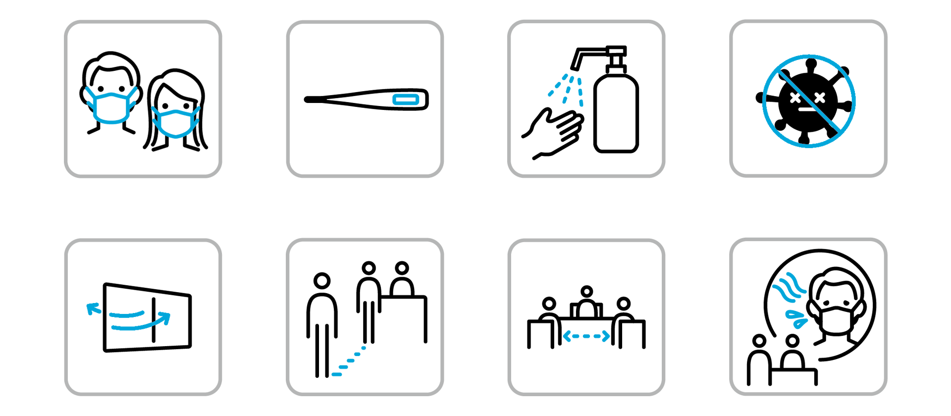 当館における新型コロナウイルス感染症への安全対策とお客様へのお願い