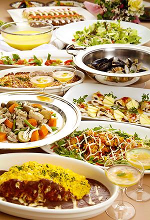 レストランパセオの春満喫ご宴会