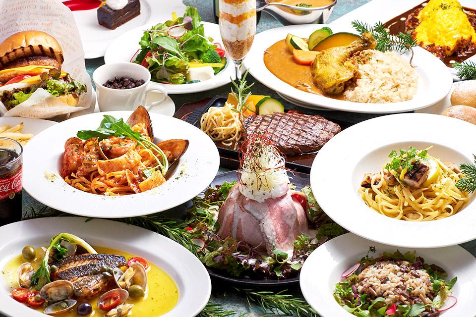 【7/15再開!】レストランパセオのランチメニュー