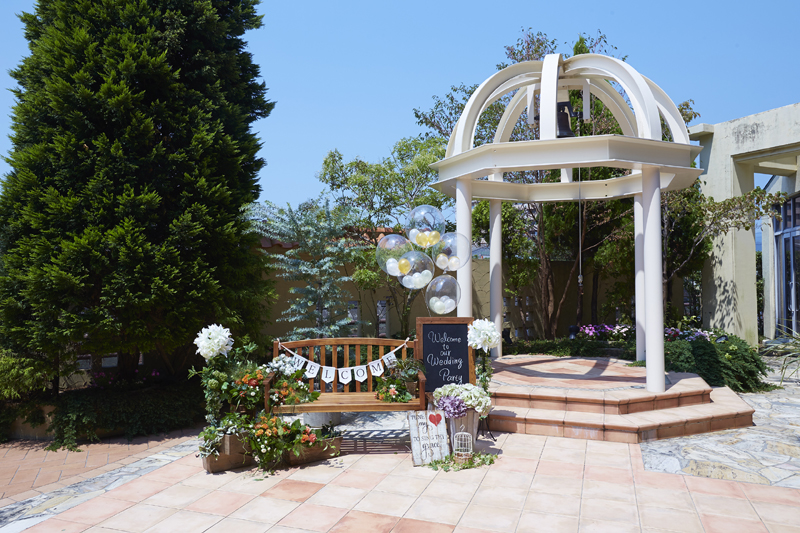 GARDEN WEDDING PLAN〜ホテル中庭にて〜